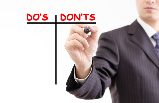 do's and don'ts comparison